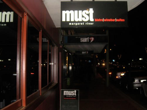 Must wine bar Margaret River