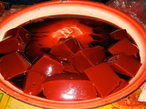 Congealed blood Laos