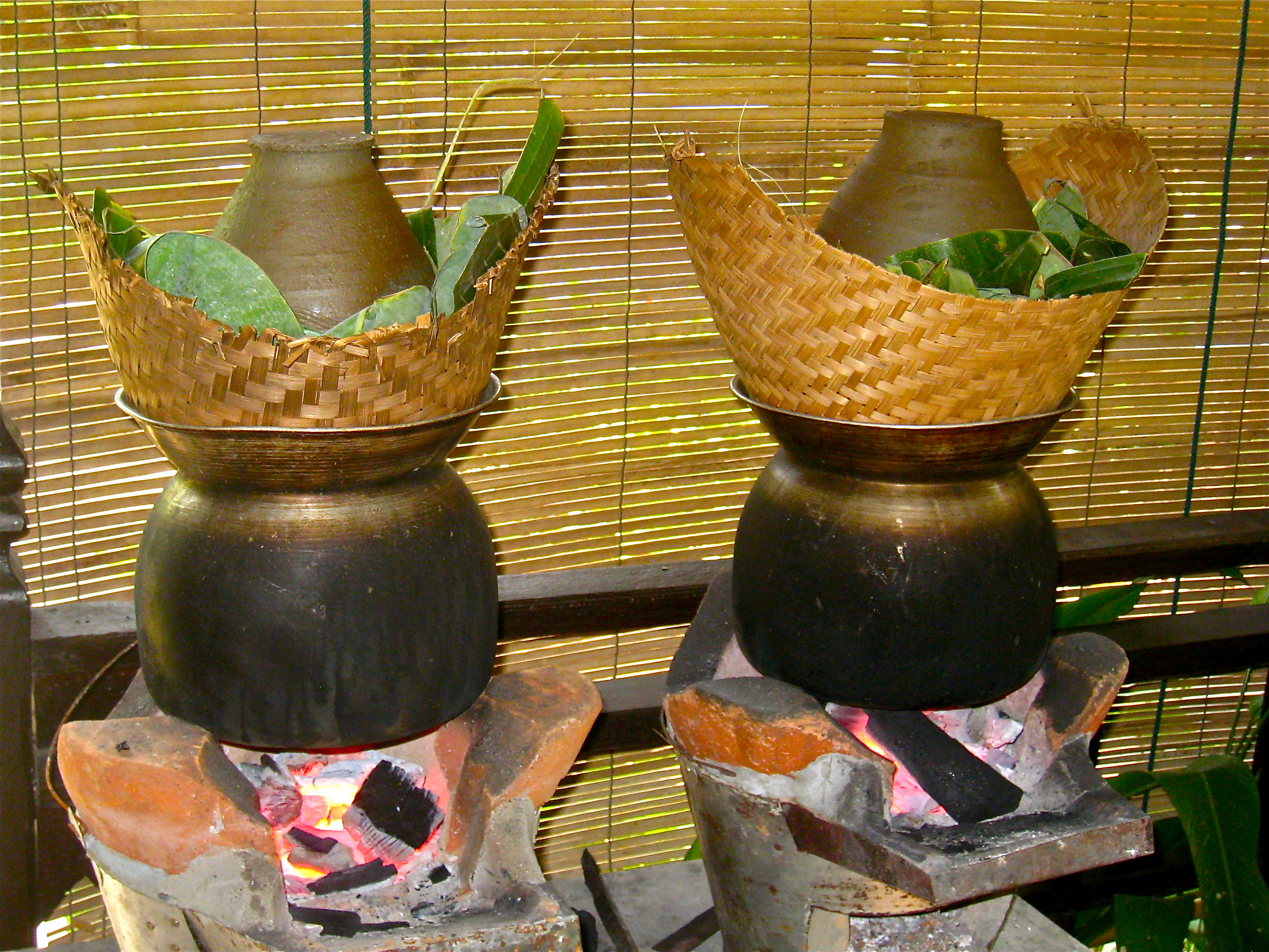 how to cook sticky rice lao style