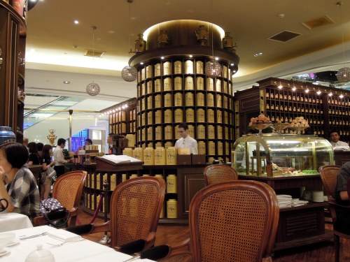 TWG_tea_salon_ION-Shopping_mall_Singapore